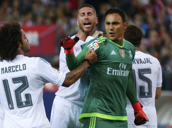 Navas sempat tak dipercaya Madrid. (Foto: REUTERS/Sergio Perez)