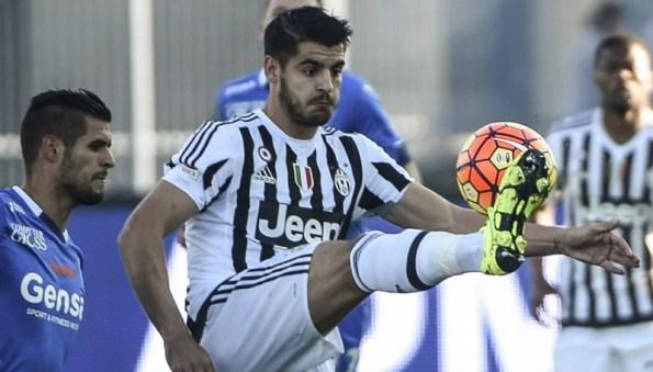 Morata tolak balik ke Madrid (Foto: AFP)