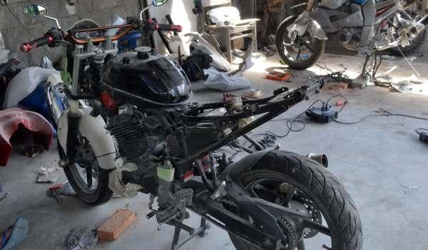 Balu Oto Work Bengkel Modifikasi Motor