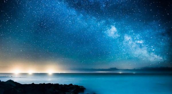 Foto Unik Galaksi Bima Sakti Berwarna Biru  Okezone techno