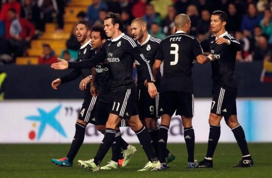 Cetak Gol ke-25, CR7 Bawa Madrid Bantai Almeria