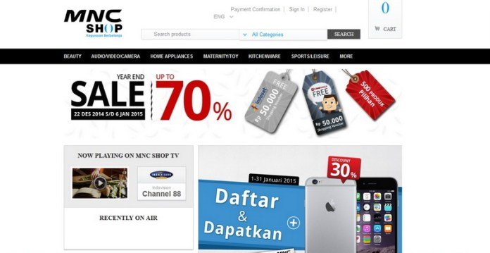 Image result for Berbelanja di MNC SHOP