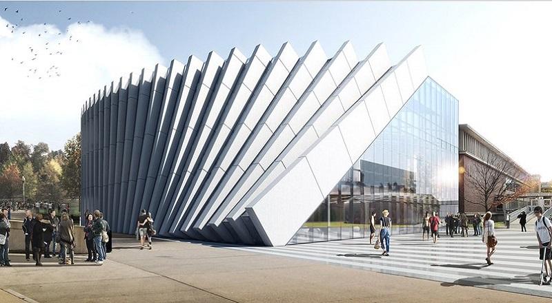 Arsitektur Gedung Kampus Ini Punya Efek Domino  Okezone