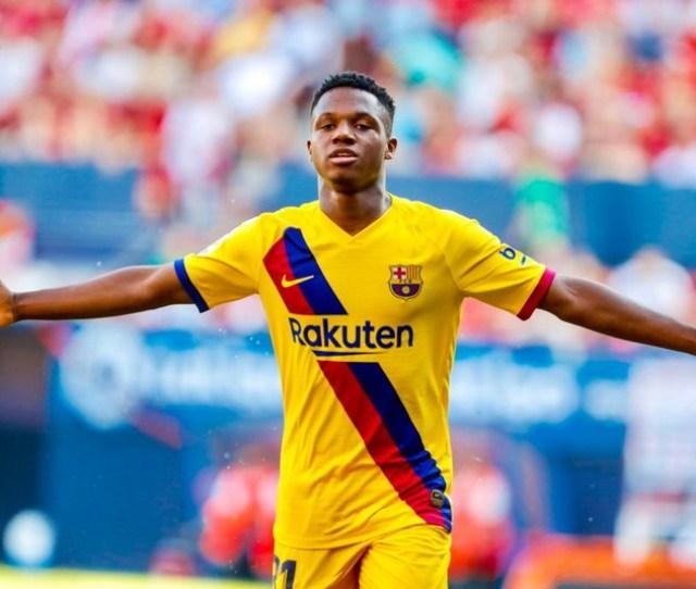 Bangganya Ansu Fati Pecahkan Rekor Pencetak Gol Termuda Liga