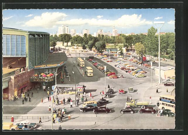 Ak Berlin, Bahnhof Zoologischer Garten Nr 6455379
