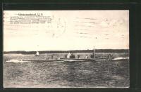 AK U-Boot U9, zerstrte 3 englische Panzerkreuzer unter ...