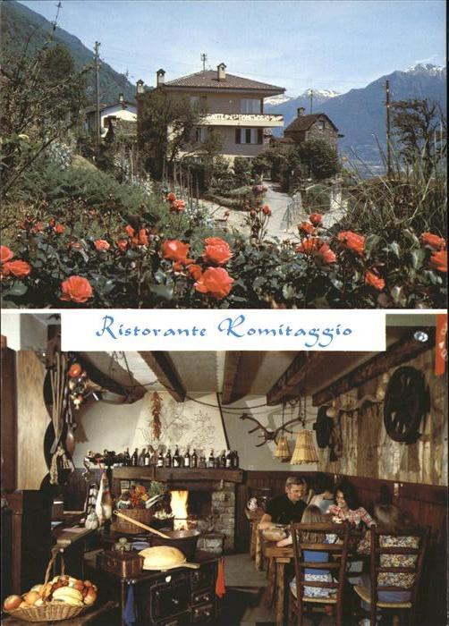 Agarone Ristorante Romitaggio Cucina tipica Kat Agarone Nr kk23728  oldthing Ansichtskarten
