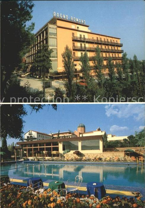 Montegrotto Terme Hotel Terme Bagno Romano Kat Nr ks23012  oldthing Italien UNSORTIERT