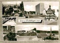 AK Sindelfingen, Gesamtansicht, Schwimmbad, Kirchpartie Nr ...