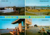 AK / Ansichtskarte Norden Norddeich Ostfriesland Bahnhof ...