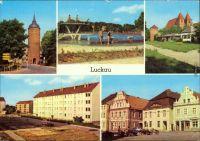 Luckau Feuerwehr, Hauptstrae, Hausmannsturm, Rathaus ...