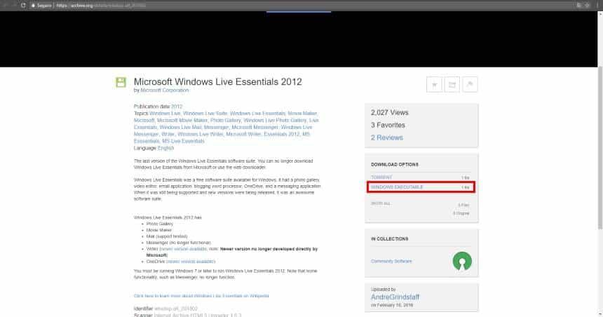 Como obter o Microsoft Movie Maker no Windows 10