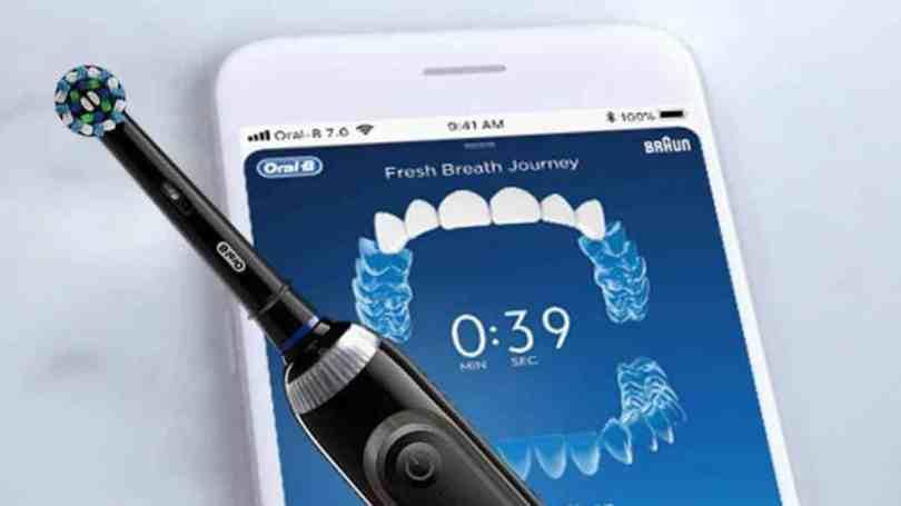 Escova de dentes inteligente