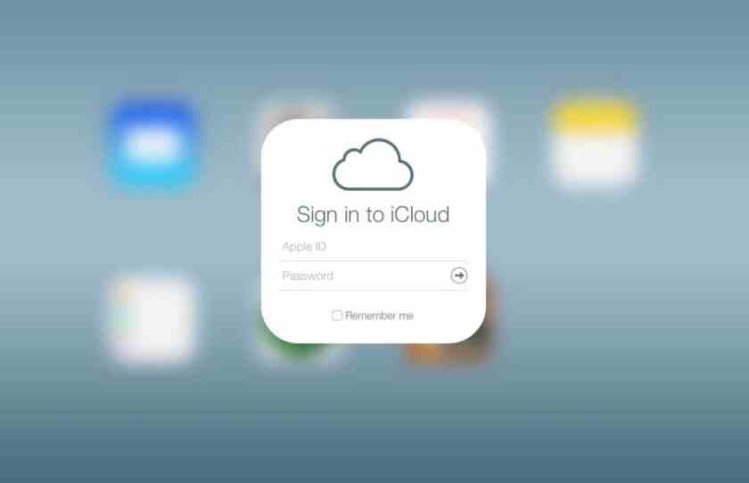 iCloud Home Screen