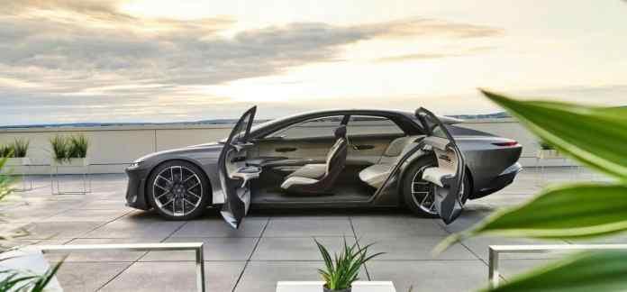 Grandsphere da Audi, o conceito de carro elétrico da montadora alemã