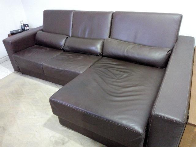 sofa usado olx rio de janeiro white walls dark doacao couro moveis laranjeiras