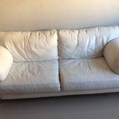 Sofa Usado Olx Rio De Janeiro Lilac Bed Em Couro Branco Moveis Freguesia