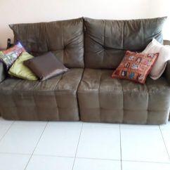 Sofa Usado Olx Rio De Janeiro Bed Factory Wakefield Reclinavel E Retratil Marrom Moveis Barra Da Tijuca