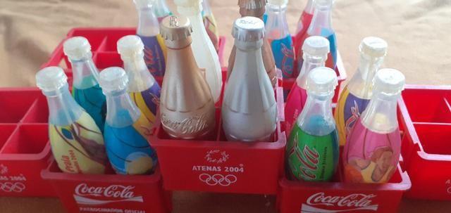 Garrafinhas - Coca Coca Atenas 2004 - para quem coleciona - so ...