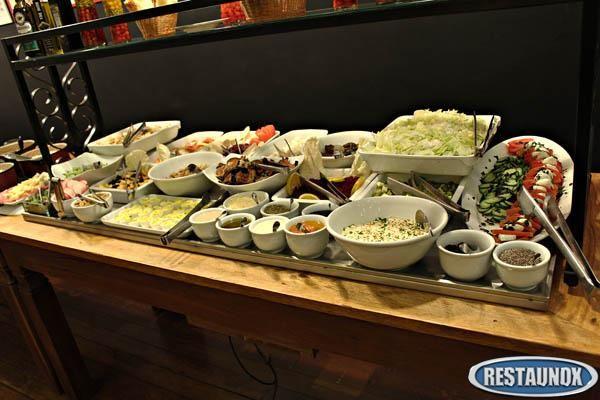 Rampa Refrigerada para Saladas  Equipamentos e mobilirio