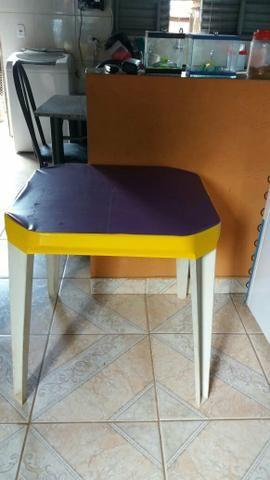 Capa plstica protetiva para mesa de bar e lanchonete em