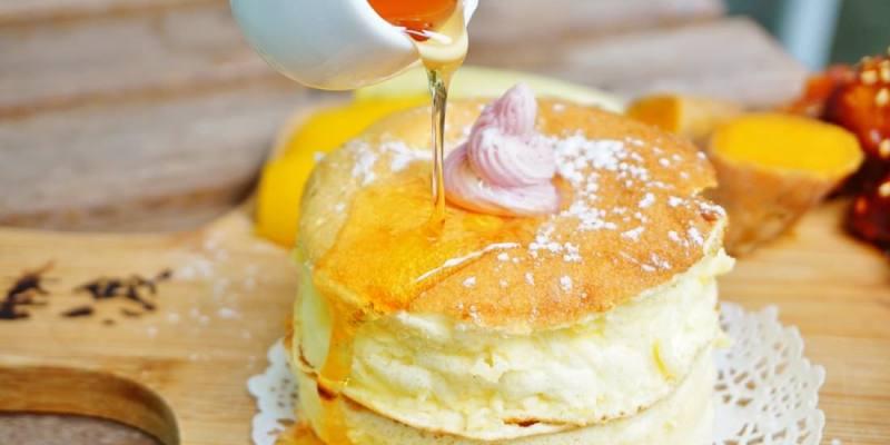 """【台中西區美食】森渡手作廚房    蜂巢麵包""""厚鬆餅""""來台中吃點不一樣的早午餐"""