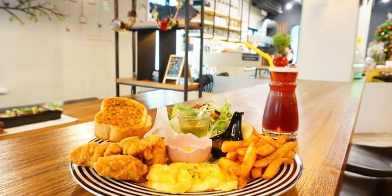 """【新北板橋早午餐】日日HiVi Brunch    板橋捷運站""""大份量早午餐""""可續杯飲品"""