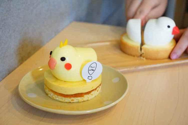 """【台北大安美食】Tori Coffee 鳥兒咖啡    捷運大安站""""鳥奴專屬鸚鵡甜點"""