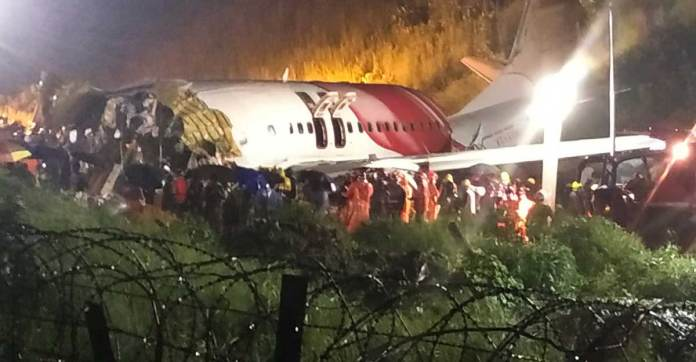 AI flight from Dubai falls into gorge at Karipur, splits into two ...