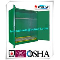 Green Hazardous Storage Cabinets , Dangerous Goods Storage ...