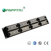 19 Inch 1U UTP Cat5e 48port Patch Panel , wall mount ...