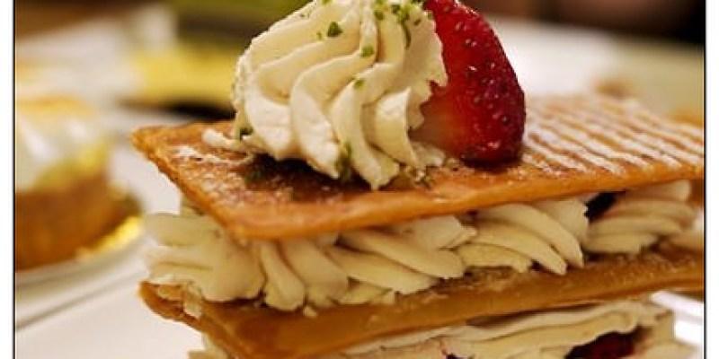 【台北慢步食記】TARTINE BAKERY:莓果鮮脆千層派~溫暖的東區甜點廚房
