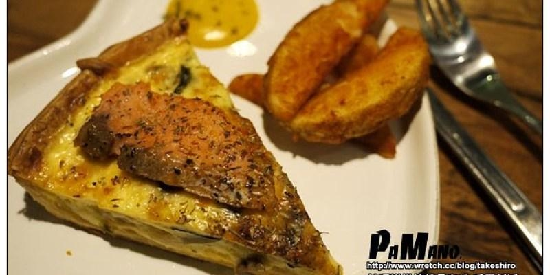 【高雄踢踏食記】帕瑪諾烘焙精品咖啡:好喝又好玩的特調拿鐵和美味法式鹹派