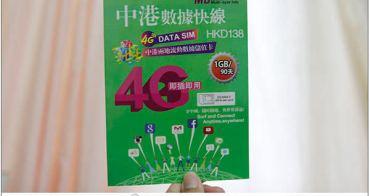 大陸上網卡使用心得(中港數據快線4G)/免翻牆的大陸電話卡/大陸上網教學/1GB可以用多久??