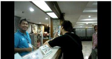 【泰國吃x喝x玩x樂】同學被泰國飯店櫃台打巴掌...