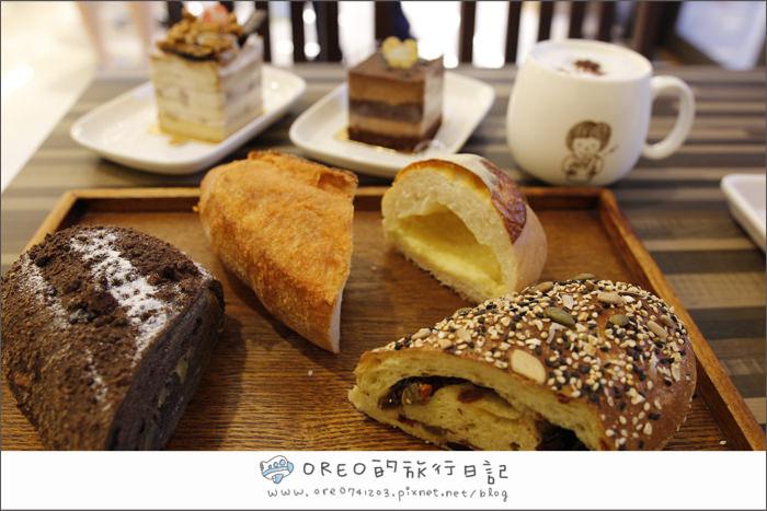 板橋江子翠-可以坐著喝咖啡的麵包店-麵包• 歌Bread Song Bakery
