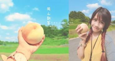 日本岡山│桃茂実苑-現採白桃體驗~清水白桃超甜啊啊啊!好想每天吃!岡山名產桃子