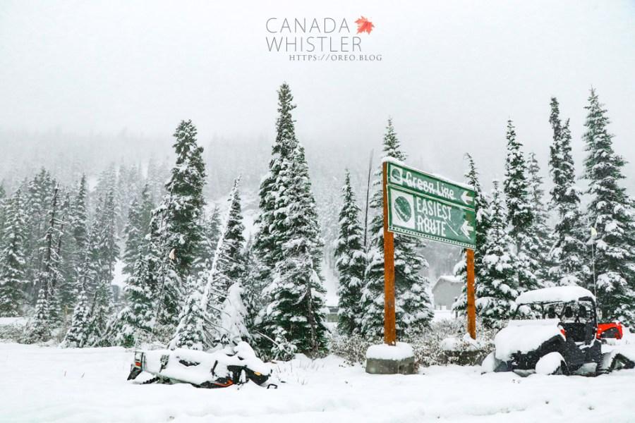 2017加拿大遊學│惠斯勒一日遊~溫哥華來回惠斯勒只要35加幣~村莊地圖/纜車資訊/降雪預測~像聖誕卡片般的美景!