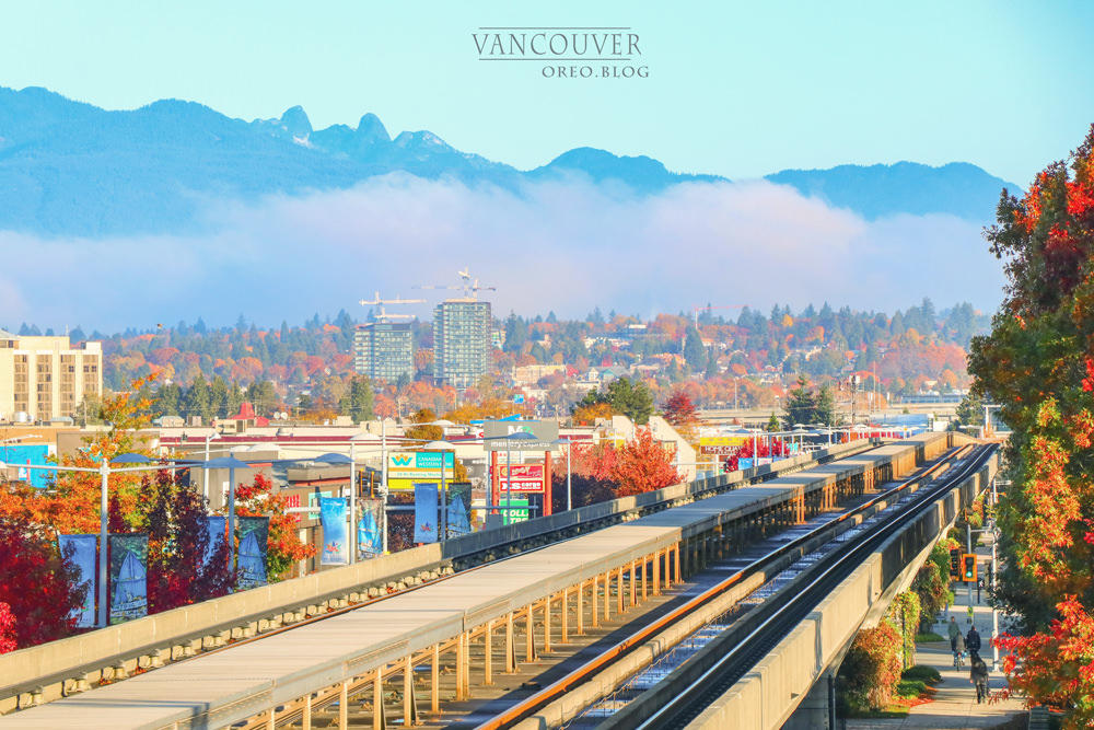 我的加拿大遊學記│下雨也美炸的溫哥華~楓紅街景&市區著名景點 - OREO的旅行日記