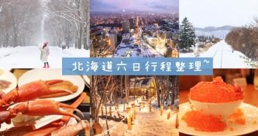 北海道自由行六日│札幌富良野滑雪吃螃蟹行程規劃、住宿、交通整理(附行程表)