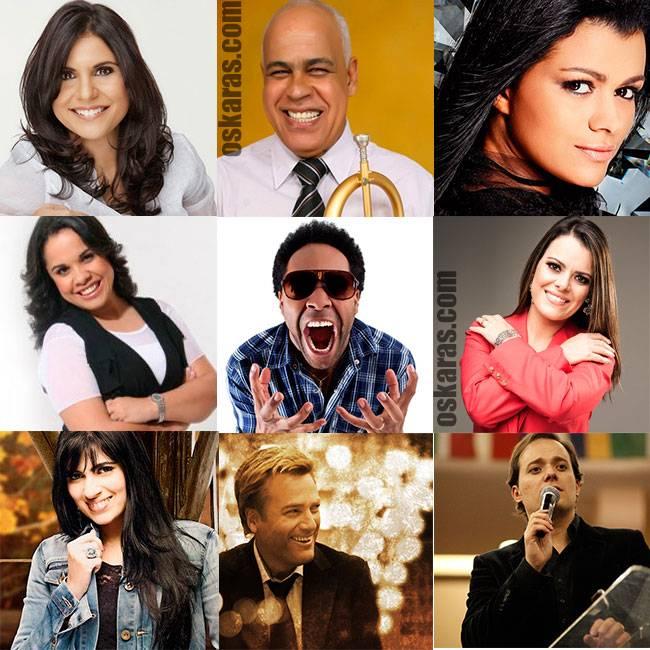 Lista de cantores gospel