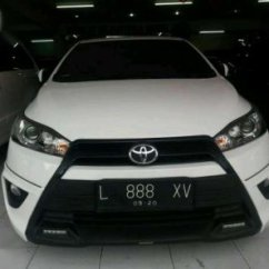 Toyota Yaris Trd Putih Variasi Grand New Veloz Matic 2015 1344263