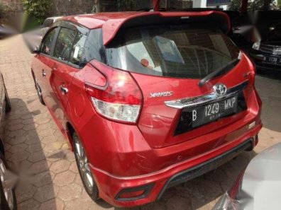 toyota yaris trd warna merah jok belakang grand new avanza s at 2014 1551366
