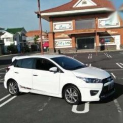 Toyota Yaris Trd Putih All New Vellfire 2018 2014 Manual 1598386