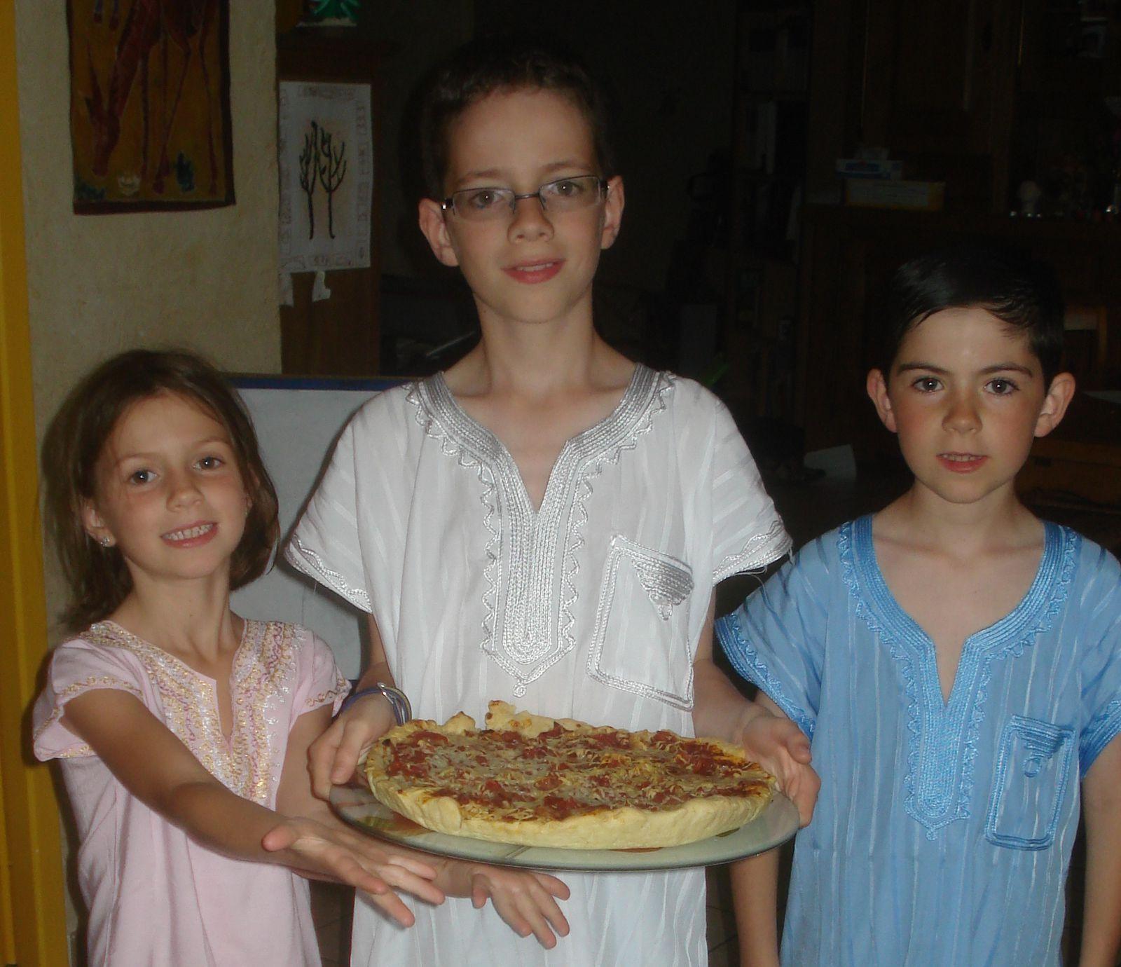 Un peu de cuisine : la pizza !