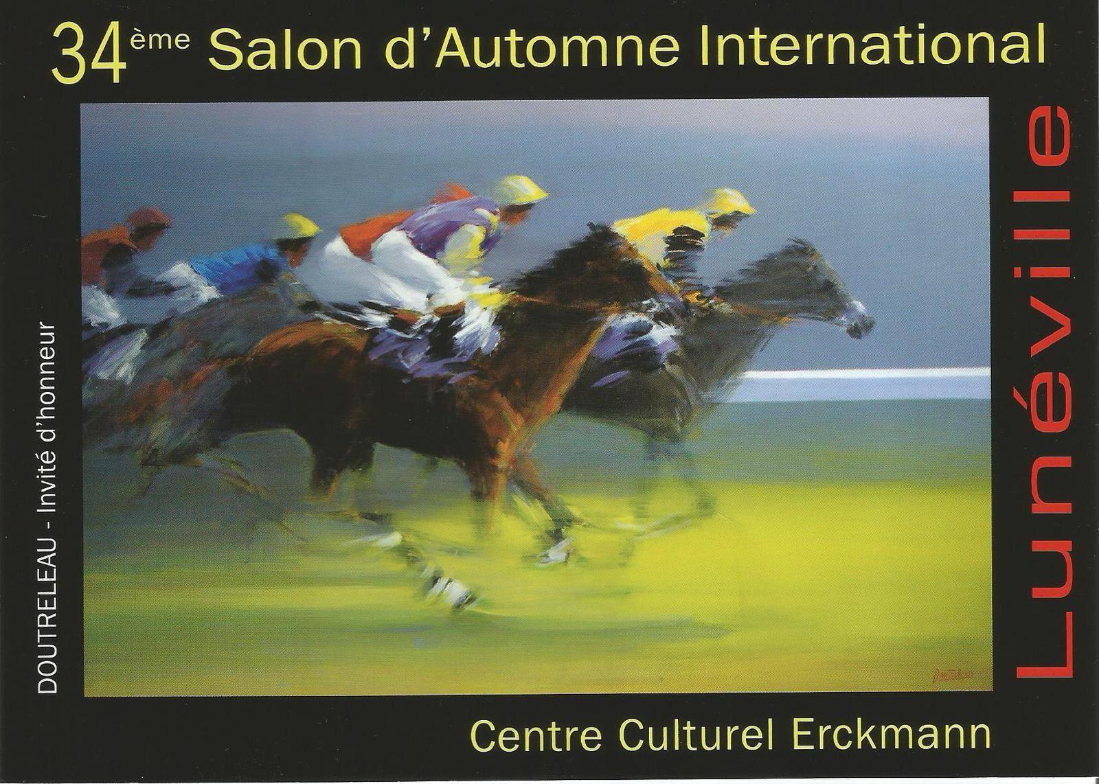 34me Salon Automne International de Lunville du 3 octobre au 26 octobre 2015  LLOMAludovic