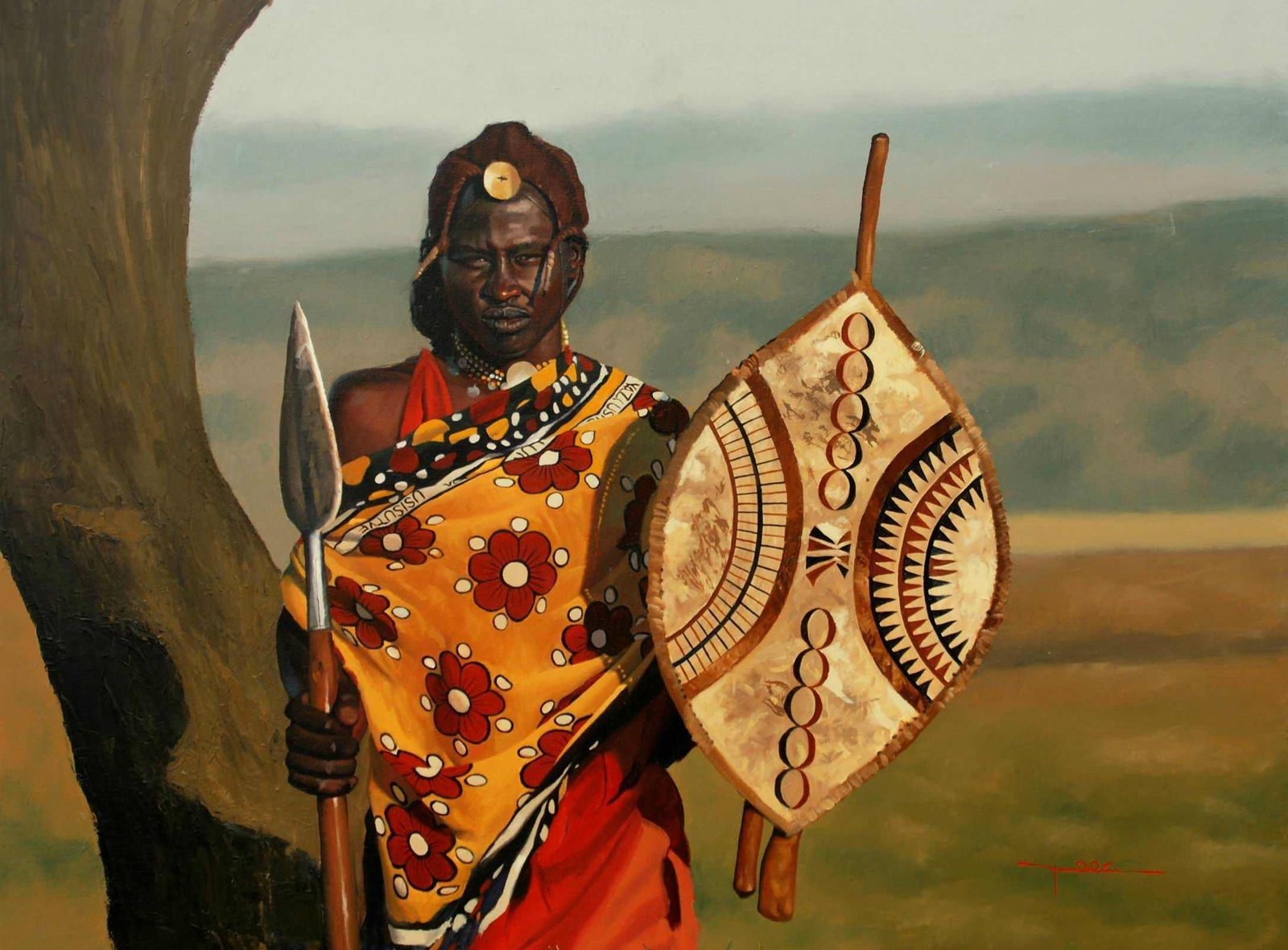 Image result for masai warriors