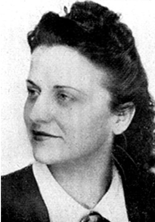 Portrait de Raymonde Nédélec
