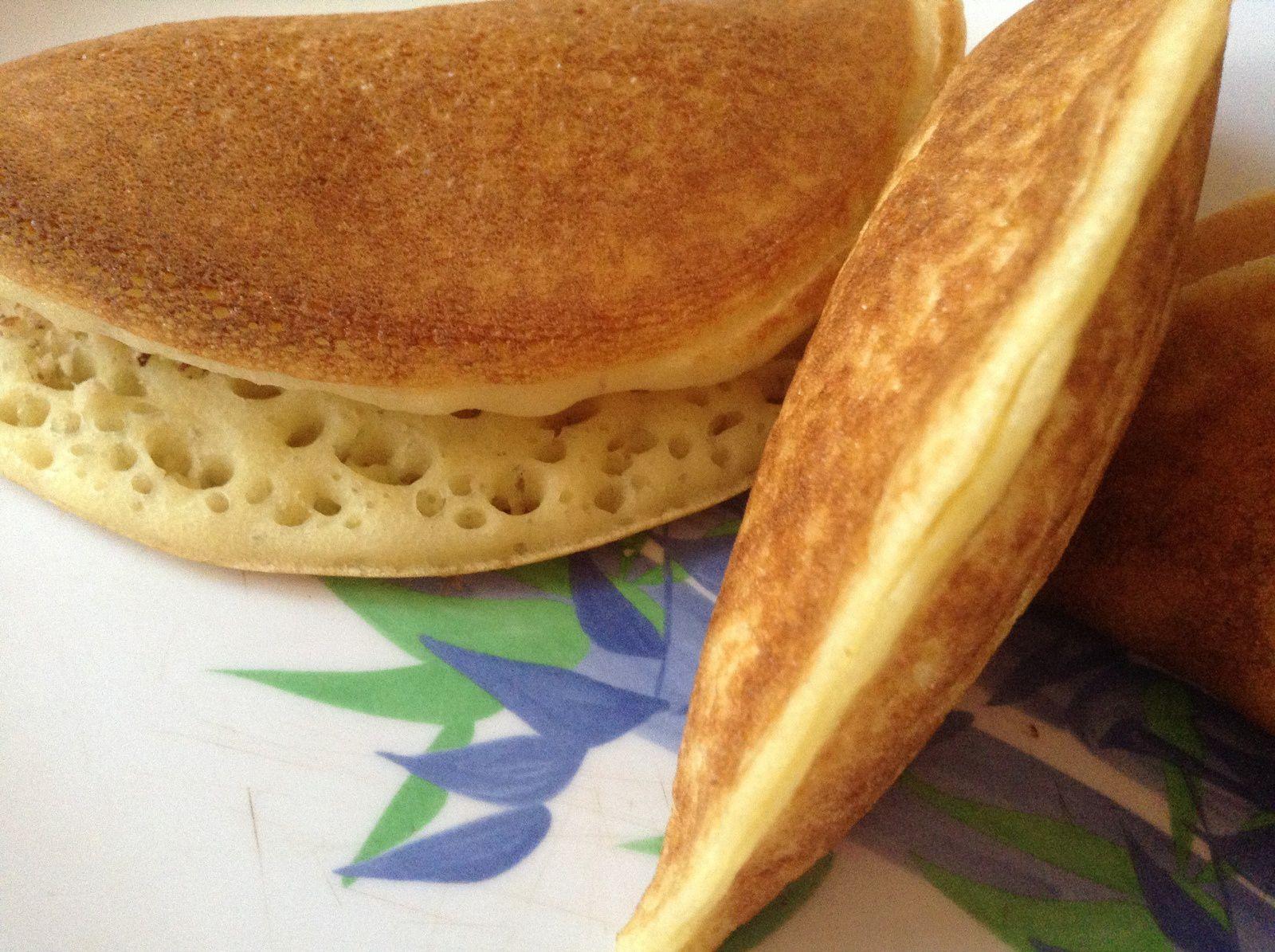 Baghrir farci aux amandes - La cuisine de Djoumana