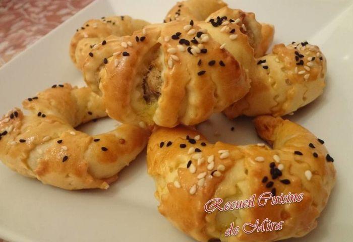 Croissants Salés Recueil Cuisine De Mira